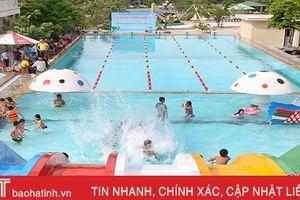 Mở rộng dịch vụ bể bơi tư nhân: Tăng cơ hội học bơi cho trẻ em