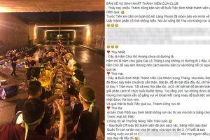 Nhóm phượt thủ vào hầm chui để liên hoan bị dân mạng 'ném đá' dữ dội: Người trong cuộc lên tiếng
