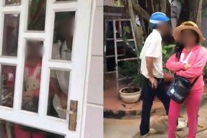 Xôn xao clip người thân bắt quả tang bố chồng vào nhà nghỉ cùng con dâu