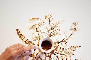 Nghệ thuật vẽ tranh từ cafe và câu chuyện khơi nguồn cảm hứng