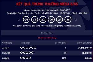 Jackpot Mega 6/45 về với TP.HCM