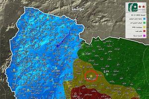 Nga cố chặn quân Thổ chiếm thêm đất Syria sau khi hạ Afrin