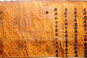 Phát hiện đạo sắc phong cổ, quý hiếm thời Lê ở Hà Tĩnh