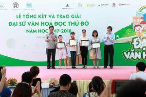 28 học sinh được vinh danh Đại sứ Văn hóa Đọc Thủ Đô