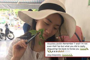 Đăng ảnh đến Đà Nẵng ăn phở, chị gái Hwayoung hoảng sợ khóa bình luận vì bị fan Việt 'khủng bố'