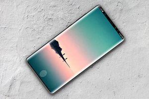 Bản dựng Galaxy Note 9 với cảm biến vân tay bên trong màn hình