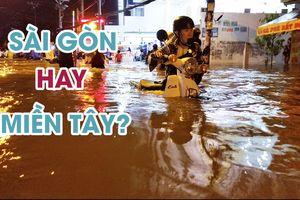 Phó Chủ tịch UBND TP.HCM: 'Ngập thì nói ngập, không nói tụ nước'