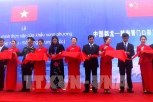 Chính thức mở cửa cặp cửa khẩu song phương Xín Mần (Việt Nam) - Đô Long (Trung Quốc)