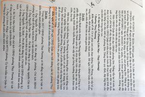 'Nhức nhối' tại Bắc Từ Liêm, Hà Nội: Kỳ I: Chưa xử lý về mặt chính quyền Chủ tịch HĐND phường do chưa có hướng dẫn?