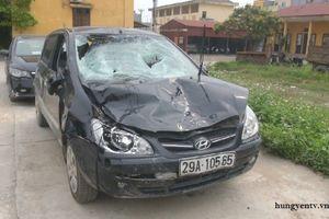 Xe ô tô của chủ tịch xã gây tai nạn chết người