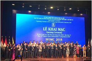 Bản tin Tháng Thanh niên 2018: Khai mạc kỳ thi Toán học Hà Nội mở rộng
