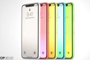 iPhone 2018 sẽ có phiên bản giá rẻ, thêm 3 màu mới