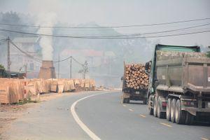 Hữu Lũng - Lạng Sơn: Nhiều cơ sở đốt phế phẩm gỗ gây ô nhiễm môi trường