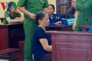 Bà nội sát hại cháu gái hơn 20 ngày tuổi ở Thanh Hóa lĩnh án 13 năm tù