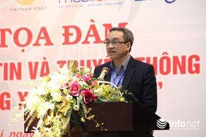 Thứ trưởng Phan Tâm tọa đàm với thanh niên ngành TT & TT