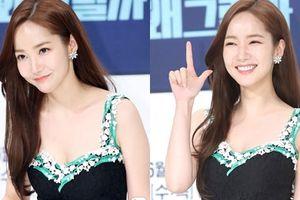 'Nữ hoàng dao kéo' Park Min Young khoe vẻ đẹp bên cạnh hai mỹ nam