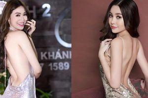 Những tấm lưng gãy 'thần thánh' mặc váy nào cũng đẹp của mỹ nhân Việt
