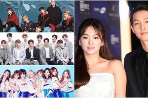 Top 40 nhân vật quyền lực nhất showbiz Hàn 2018: G-Dragon, IU, Song Joong Ki bị BTS, WANNA ONE, Exo vượt mặt