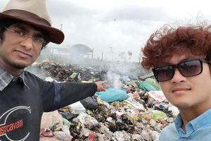 Những 'ông Tây' đến Việt Nam chỉ thích nhặt rác