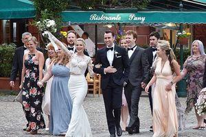 Đám cưới theo phong cách Ý của ngôi sao phim Harry Potter