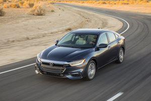 Sedan 'xanh' Honda Insight 2019 chính thức xuất hiện
