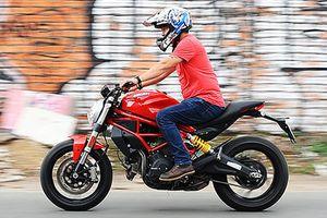 Cầm lái 'quỷ nhỏ' Ducati Monster 797 giá 329 triệu tại Việt Nam