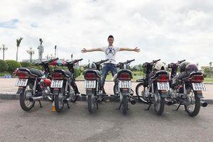 Dàn Honda Dream biển 'tứ quý' giá 1,13 tỷ của 9x Bắc Ninh