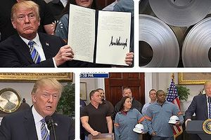 Mỹ áp thuế nhập khẩu đối với thép và nhôm của châu Âu vào ngày 1/6