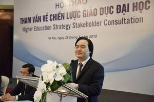 Bộ GD-ĐT tham vấn xây dựng Chiến lược tổng thể phát triển giáo dục đại học Việt Nam