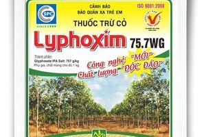 Thuốc trừ cỏ không chọn lọc Lyphoxim 75.7 WG