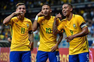 Đội tuyển Brazil 'bơi trong tiền' nếu vô địch World Cup 2018