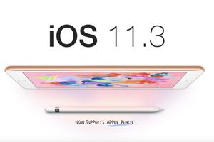 iOS 11.3 phát hành nhưng chỉ cho iPad 2018