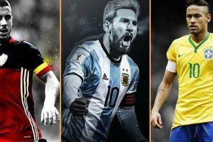 Những danh thủ khoác áo số 10 xuất sắc nhất World Cup 2018