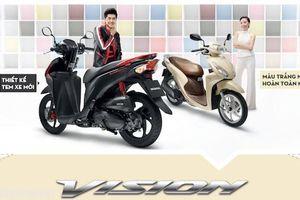 Bảng tổng hợp giá xe Honda Vision tháng 6/2018