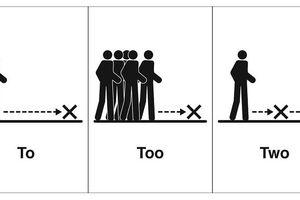 10 tranh minh họa sinh động giúp bạn dễ dàng phân biệt các từ đồng âm trong tiếng Anh (P2)