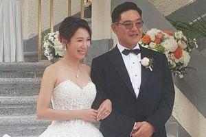 Kiều nữ TVB rạng rỡ trong ngày cưới doanh nhân tuổi U60