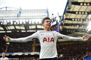 Dele Alli lập cú đúp, Tottenham có chiến thắng lịch sử trước Chelsea