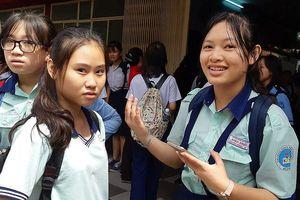 Học sinh TPHCM hào hứng với đề thi tích hợp vào lớp 10 chuyên
