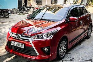 Xe giá rẻ Toyota Yaris lên đồ chơi cực chất ở Sài Gòn