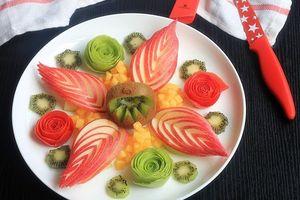 Học cách gọt tỉa trái cây đẹp mắt kích thích trẻ ăn trái cây hiệu quả