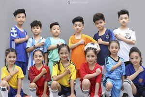 Dàn 'cầu thủ nhí' siêu đáng yêu trong bộ hình cổ động World Cup 2018