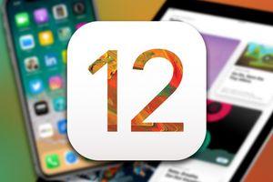 iOS 12 ra mắt - cải thiện hiệu năng, iPhone 5S cũng được lên đời
