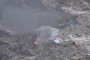 Quân Houthi khoe bắn hạ trực thăng Apache A rập Xê út