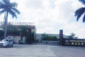 TX. Chí Linh (Hải Dương): Công ty TNHH Nhôm Đông Á thoát 'sổ đen' ô nhiễm vẫn khiến dân bất an