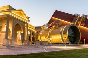Tuyệt tác kiến trúc và nghệ thuật của Qatar bên bờ vịnh Doha
