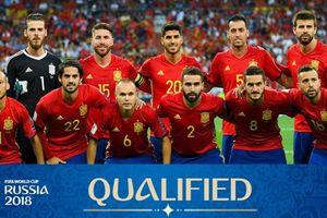 Danh sách, số áo đội tuyển Tây Ban Nha dự World Cup 2018: De Gea giữ số 1