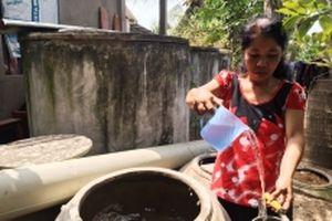 Bến Tre ứng phó nước mặn xâm nhập nội đồng