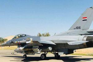Máy bay chiến đấu F-16 của Iraq không kích mục tiêu IS tại Syria