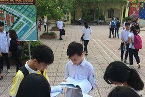 Sở GD&ĐT họp khẩn buổi trưa vì nghi vấn lộ đề thi Ngữ văn vào 10