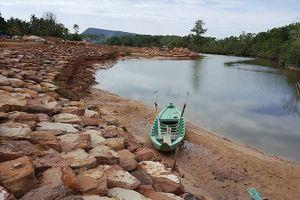 Sông ở Phú Quốc bị bức tử